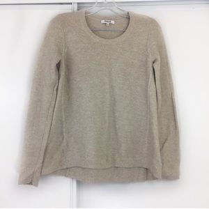 Madewell Scoop Neck Tan Long Sleeve Knit ❣️
